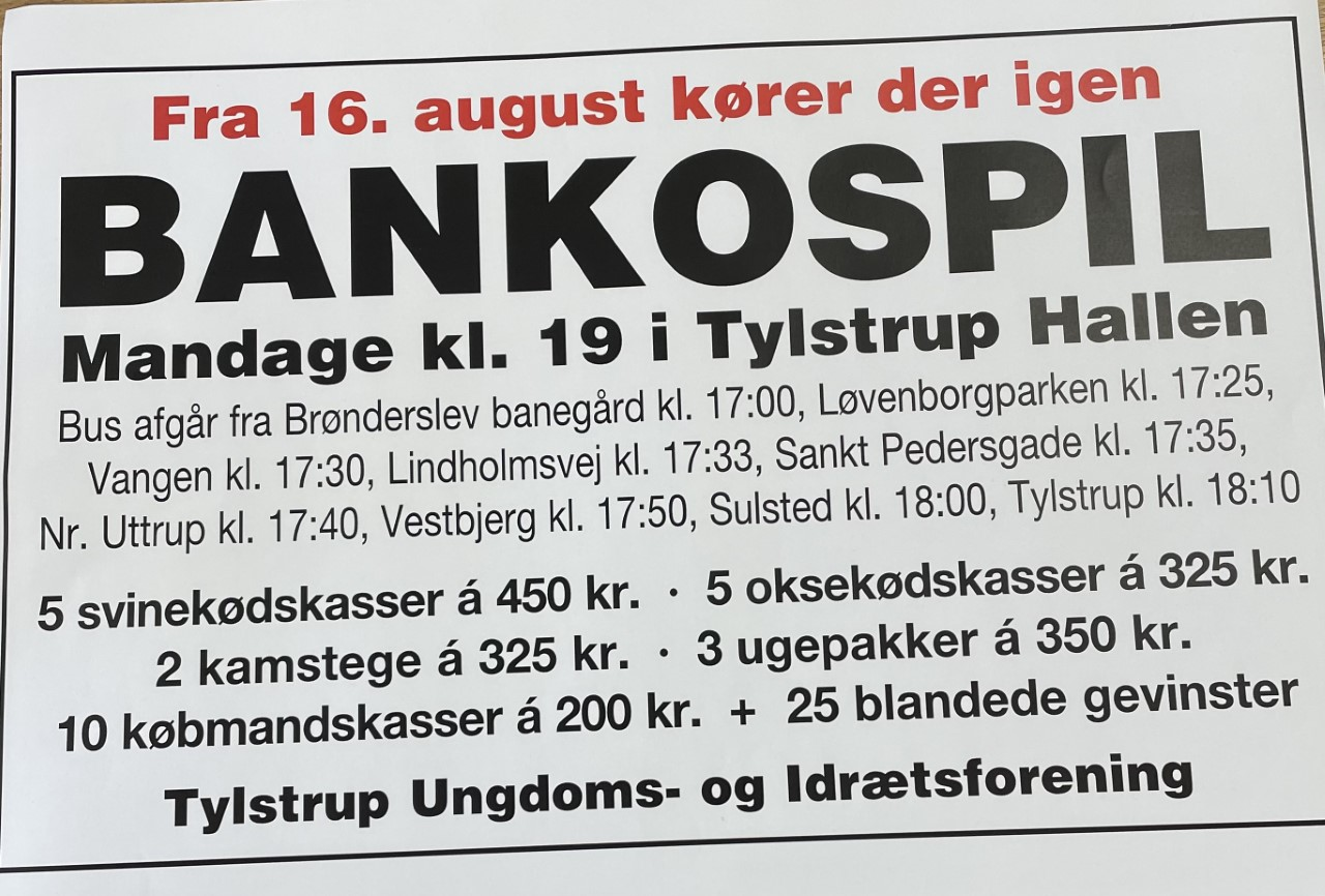 Banko i Tylstrup